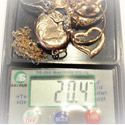 Weighing scrap gold